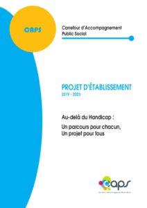 thumbnail of Projet d'établissement 2019-2023